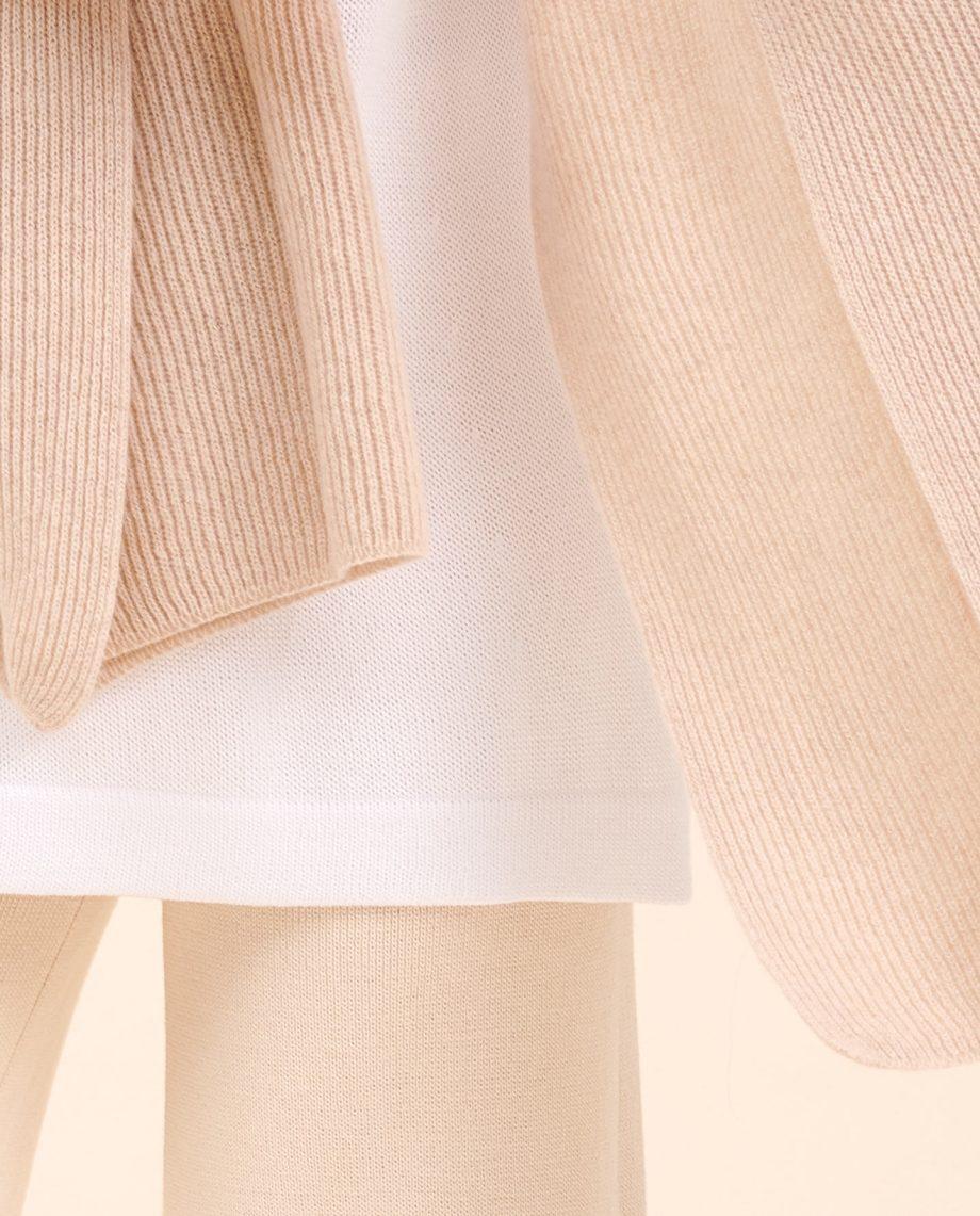 Schal beige kaschmir